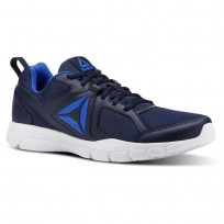 Reebok 3D FUSION TR Training Shoes Mens Collegiate Navy/White/Vital Blue (292SDTGB)