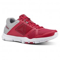 Reebok YourFlex Trainette Training Shoes Womens Rugged Rose/Tin Grey/White (309NYLSA)