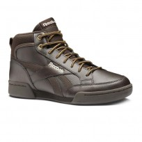 Reebok Royal Complete Shoes Mens Dark Brown/Stucco/Wild Khaki (313AFYWM)
