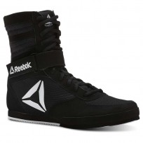 Reebok Boxing Tactical Shoes Womens Black/White (339JPBUQ)