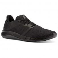 Reebok Print Running Shoes For Men Black/Grey (340CHGWD)