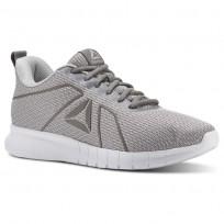 Reebok Instalite Running Shoes Mens Skull Grey/Foggy Grey/White/Pewter (340CQRLO)