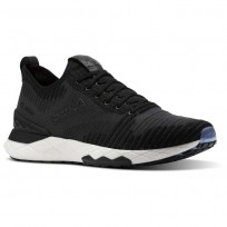 Reebok Floatride 6000 Lifestyle Shoes Mens Black/Coal/White (342WVHMK)