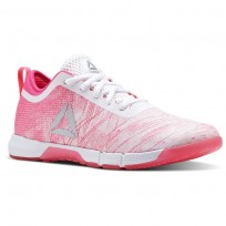 Chaussure De Sport Reebok Speed Femme Rose/Rose/Blanche/Argent (352QWREV)