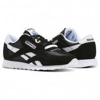 reebok classic nylon παπουτσια γυναικεια μαυρα/ασπρα (353xafsk)