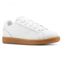 Reebok Royal Complete Shoes Boys Outdoor-White/Dark Gum (356LSKBE)