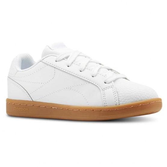 Buty Reebok Royal Complete Chłopięce Białe (356LSKBE)