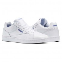 Reebok Royal Complete Shoes Mens White/Collegiate Royal (358CWKST)