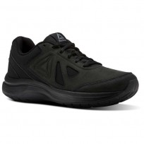 Reebok Walk Ultra 6 DMX MAX RG Walking Shoes Mens Black/Alloy (358ILGYX)