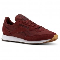 Reebok Classic 83 Shoes Mens Tg- Rugged Maroon/White/Gum (359PEVHM)