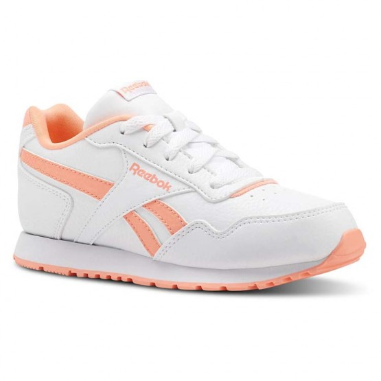 Reebok Royal Glide Shoes Girls Sh-White/Digital Pink (365ELIAM)