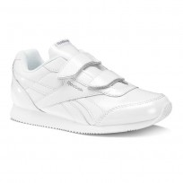 Chaussure Reebok Royal Classic Jogger Fille Blanche/Argent (371WGOKB)
