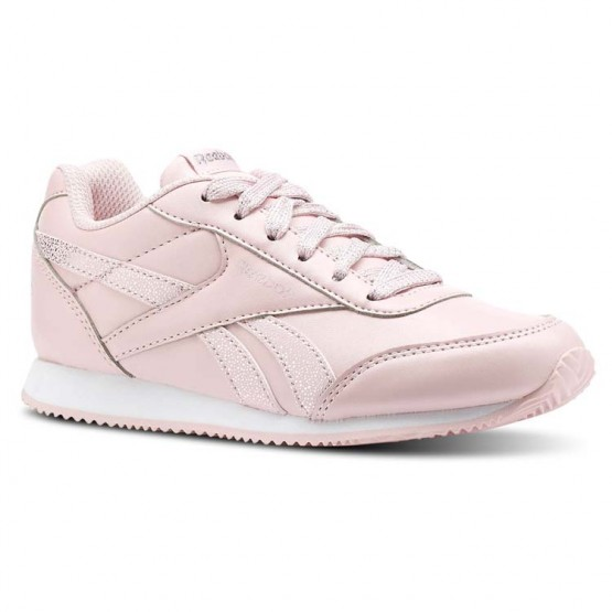 Reebok Royal Classic Jogger Shoes Girls Pastel/Practical Pink/White (373HEAOY)