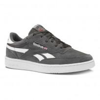 Reebok Revenge Plus Shoes Mens Estl- Coal/White (376SGNXU)