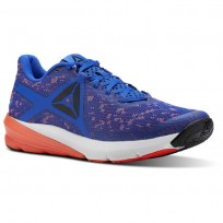 Reebok OSR Running Shoes Mens Vital Blue/Atomic Red/White/Black (390ERSKZ)