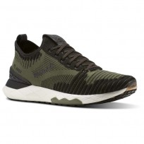 Reebok Floatride 6000 Lifestyle Shoes Mens Hunter Green/Black/Coal/White (390PGEYQ)