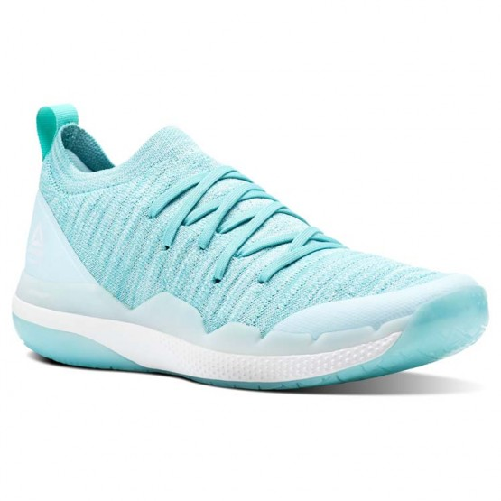 Reebok Ultra Circuit TR ULTK LM Studio Shoes Womens Blue Lagoon/Turquoise/White (401DIZYS)