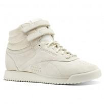 Reebok F/S HI RIPPLE Shoes Womens Chalk (412QLGJN)