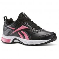Chaussure Running Reebok Pheehan Run 4.0 SL Femme Noir/Rose/Blanche (423MKYJB)