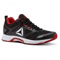 Reebok Ahary Runner Running Shoes Mens White/Black/Primal Red (437VYTCO)