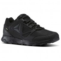 Reebok Skye Peak GTX 5.0 Running Shoes Womens Black/Ash Grey/Coal (441SPNXV)