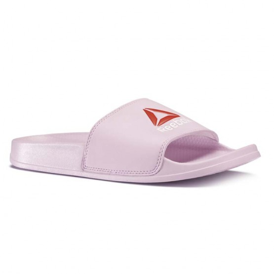 Reebok Original Slide Slippers Womens Moonglow/Excellent Red/White (445BSWHJ)