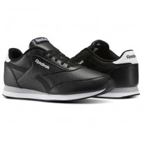 Chaussure Reebok Royal Classic Jogger Homme Noir/Blanche/Grise (459ZRCQE)