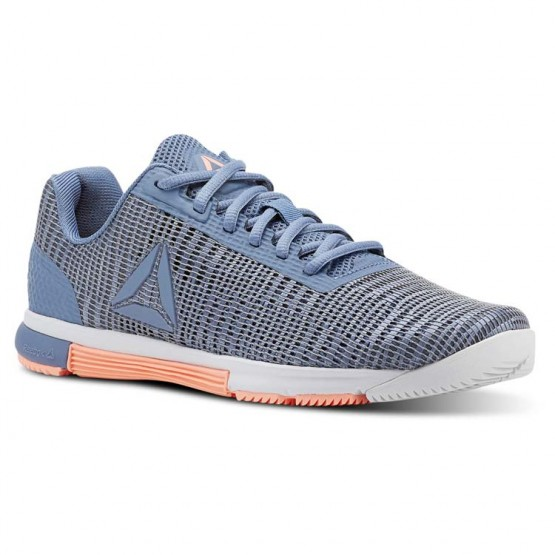 Reebok Speed TR Flexweave™ Training Shoes Womens Blue Slate/Spirit White/Digital Pink (463VEANR)