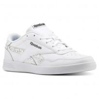 Reebok Royal Techque Shoes Womens White/Black/Sleet (466DOZMN)