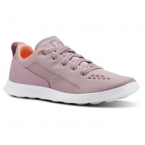 Reebok Evazure DMX LITE Walking Shoes Womens Infused Lilac/Digital Pink/White (467KIZCB)