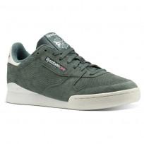 Reebok Phase 1 Shoes Mens Pn-Chalk Green/Chalk (477BLJSQ)