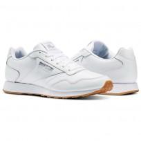 Reebok Royal Shoes Mens White/Steel/Gum (481QGXMV)