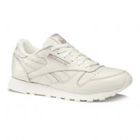 Chaussure Reebok Classic Leather Femme Beige (482UGEDK)