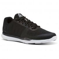 Reebok Sprint TR Training Shoes Womens Black/White/Skull Grey (486CWIJU)