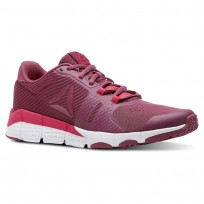 Reebok Trainflex Training Shoes Womens Twisted Berry/Lavendar Luck/Twisted Pink/Wht (497DTHEK)