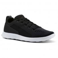 Reebok Evazure DMX LITE Walking Shoes Womens Black/White (501MGEUO)
