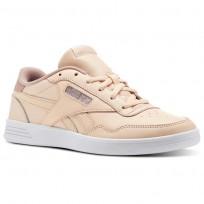Reebok Royal Techque Shoes Womens Orange/Desert Dust/Chalk Pink/White/Silver (502TORDJ)
