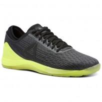 Chaussure Reebok CrossFit Nano Homme Noir/Jaune (508ADHRY)
