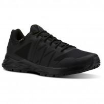 Reebok Astroride Trail Walking Shoes Mens Black/Ash Grey/Primal Red (509MTIVN)