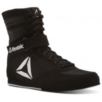 Reebok Boxing Tactical Shoes Mens Black/White (509QSIAY)