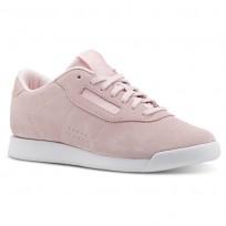 Reebok Princess Shoes Womens Pb-Practical Pink/White (524KIJWE)