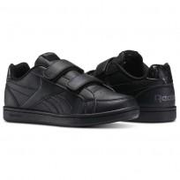 reebok royal prime παπουτσια παιδικα μαυρα/γκρι (528kvgsp)