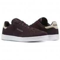 Reebok Royal Smash SDE Shoes For Women Purple/Grey/White/Silver (532TPQVW)