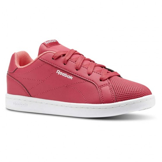 Reebok Royal Complete Shoes Girls Rugged Rose/Victory Pink/White (539VCQPE)