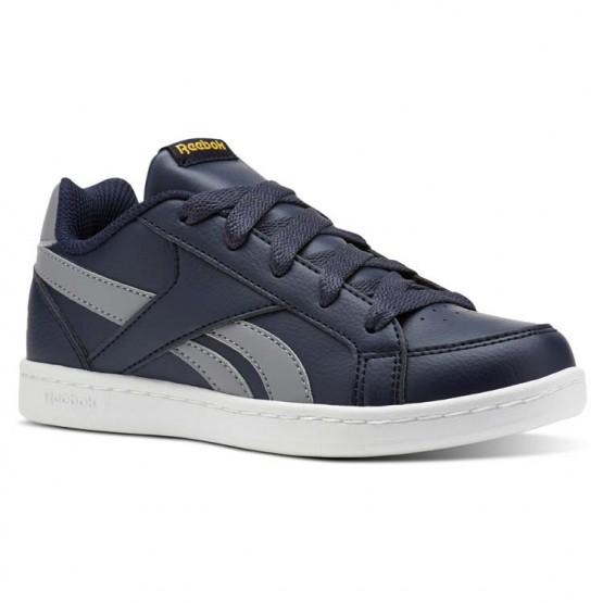 reebok royal prime παπουτσια για αγορια σκουρο μπλε/γκρι/χρυσο χρωμα (541broap)
