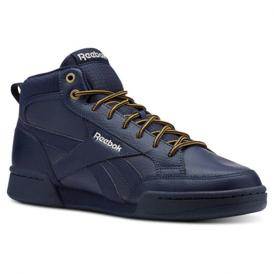 Reebok Royal Complete Shoes Mens Collegiate Navy/Stucco/Wild Khaki (542ZLAGM)