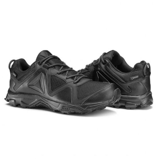 Reebok Franconia Ridge 3.0 GTX Walking Shoes Womens Black/Coal (545WKIOR)