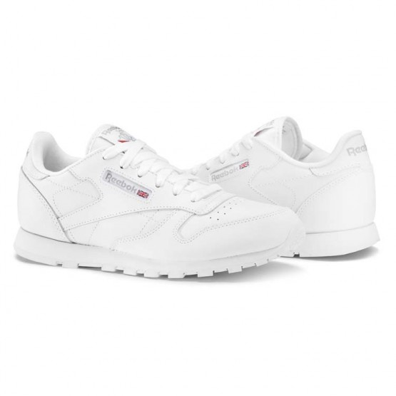 Chaussure Reebok Classic Leather Enfant Blanche (554XMBGA)