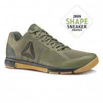 Reebok Speed Training Shoes Mens Hunter Green/Coal/Reebok Gum (556LCBQO)