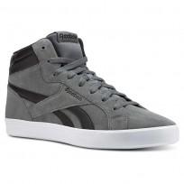 Reebok Royal Shoes Mens Alloy/Black/White (556PGBXZ)